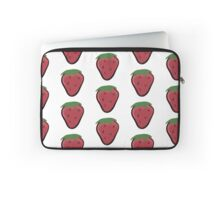 Are you yogurt? Strawberries Pattern Laptop Sleeve