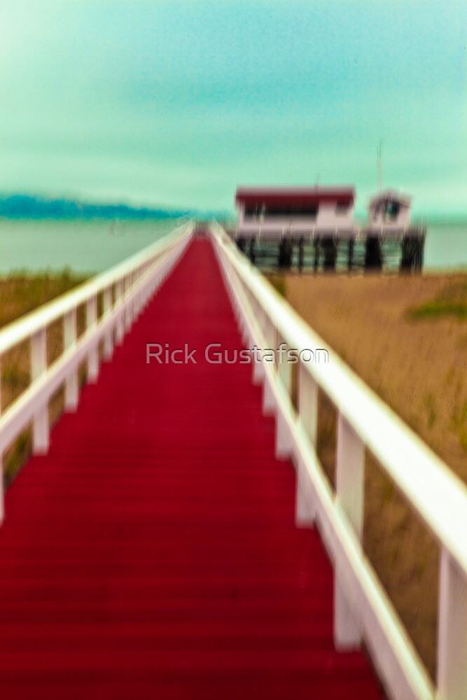 Beach Access by Rick Gustafson
