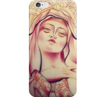 The Virgin Mary  iPhone Case/Skin