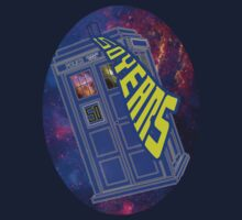 Dr Who - 50 Years Galaxy Tardis by appfoto