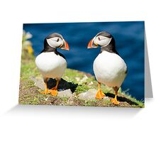 Two's Company Greeting Card