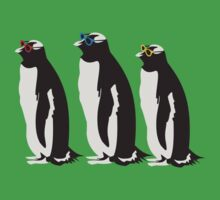 3 Penguins Leonard by monkeybrain