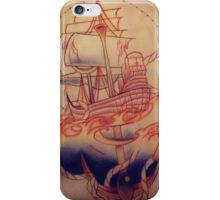 Pirate Ship Anchor iPhone Case/Skin