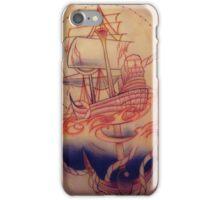 Pirate Ship Anchor iPhone Case/Skin
