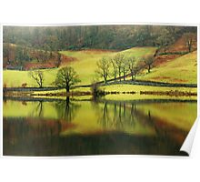 Green Rydal with a Hint of Russet Poster