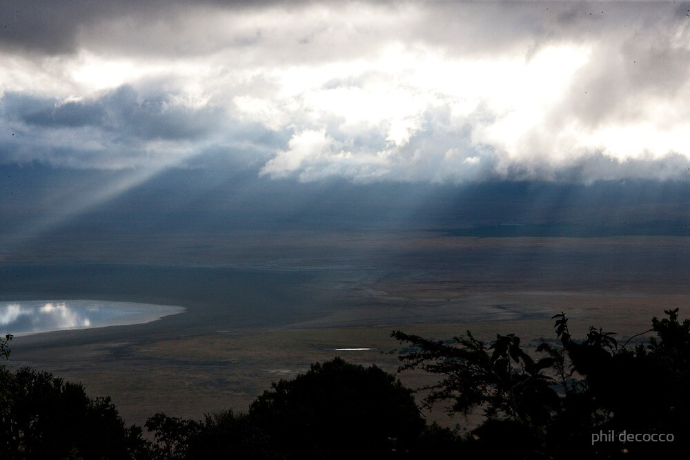 Stormy Afternoon Ngorongoro by phil decocco