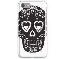 Sugar Skull Tee iPhone Case/Skin