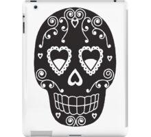 Sugar Skull Tee iPad Case/Skin