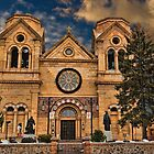 Saint Francis Cathedral by Jon Burch
