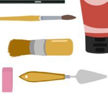 Painting Tools Shirt Sticker