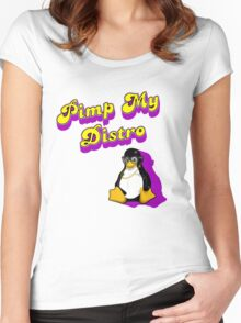 Pimp My Distro Women's Fitted Scoop T-Shirt