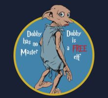 Dobby is a free elf by kingUgo