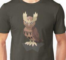 Cutout Noctowl Unisex T-Shirt