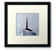 Top of the Freedom Tower - NYC Framed Print