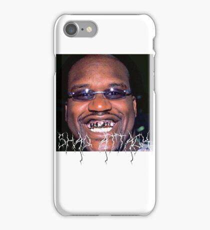 SHAQ ATTACK iPhone Case/Skin