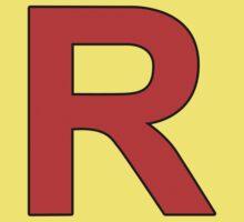 Team Rocket Logo One Piece - Short Sleeve