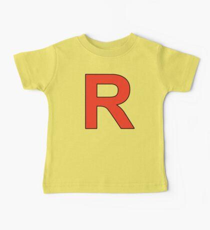 Team Rocket Logo Baby Tee