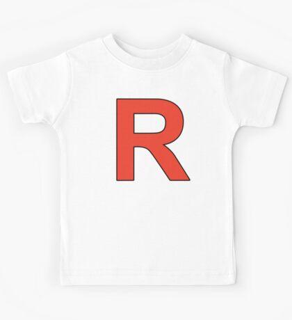 Team Rocket Logo Kids Tee