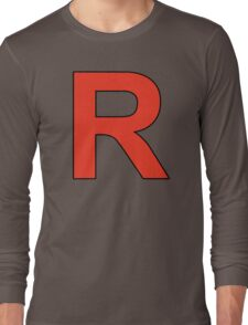 Team Rocket Logo Long Sleeve T-Shirt