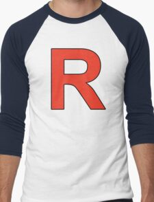 Team Rocket Logo Men's Baseball ¾ T-Shirt