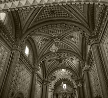 ©MS La Bóveda Tlapujahua IA Monochromatic by OmarHernandez