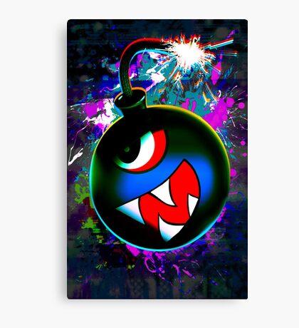 digital Color bomb Canvas Print