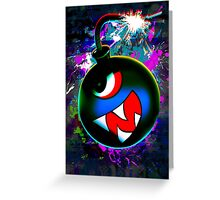 digital Color bomb Greeting Card