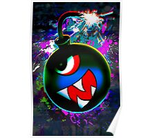 digital Color bomb Poster