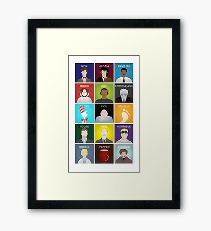 A Doctor a Day Framed Print