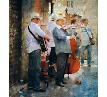 Musicians Photographic Print