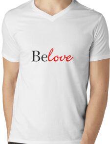 Belove Mens V-Neck T-Shirt
