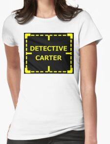 Detective Carter Knows sticker alternative Womens Fitted T-Shirt