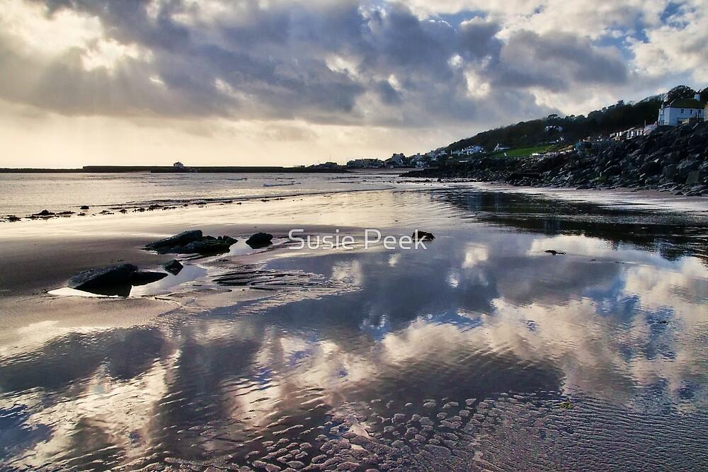 A November Afternoon ~ Lyme Regis by Susie Peek