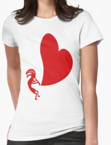 Petroglyph Womens Fitted T-Shirt