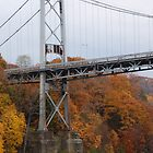 Kingston - Port Ewen Suspension Bridge (NY, USA) by John Schneider
