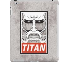 TITAN iPad Case/Skin