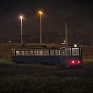 Tram Loneliness by Janko Dragovic