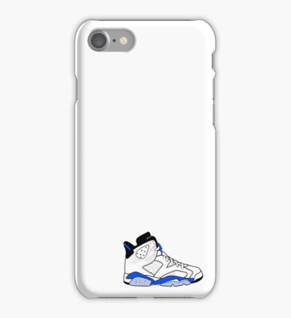 "Air Jordan VI (6) ""Sport Blue"" iPhone Case/Skin"