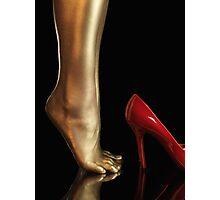 Golden Legs art photo print Photographic Print
