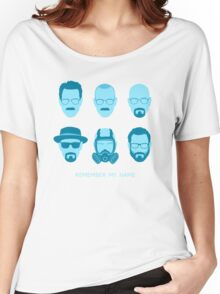 ALL HAIL HEISENBERG! - Blue version Women's Relaxed Fit T-Shirt