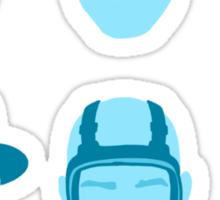 ALL HAIL HEISENBERG! - Blue version Sticker