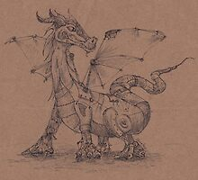 Steampunk Dragon by betsystreeter