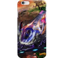 Race the Galaxy iPhone Case/Skin