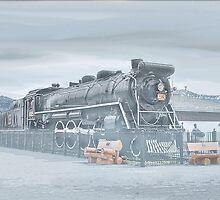 Canadian Steam Locomotive  by Dyle Warren
