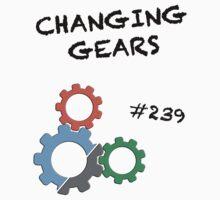 Changing Gears Kids Tee