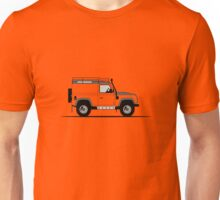 A Graphical Interpretation of the Land Rover Defender 90 Hard Top Adventure Edition Unisex T-Shirt