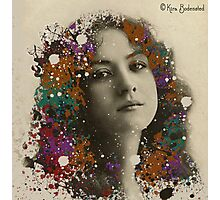 Vintage Lady with a new hair-do Photographic Print