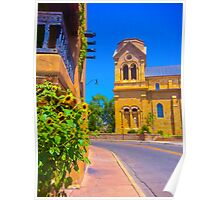 Saint Francis Cathedral Poster