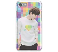 Park Jimin - Pixel Heart iPhone Case/Skin