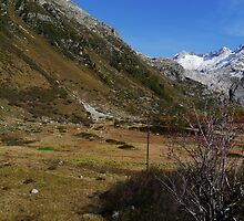 URA pond and the former Rhone Glacier by Nano Trace Technologies